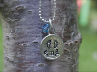 Pewter Mother's Necklace