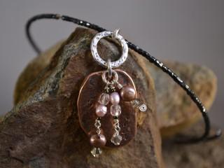 Native Copper Choker Necklace