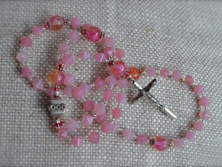 Pale Pink Rosary