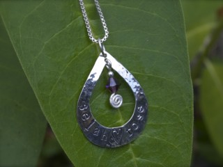 Silver Mothers' Necklaces