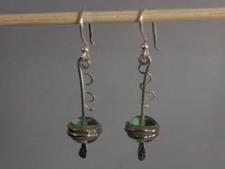 Asian Style Droplet Earrings