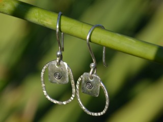 Loopy Spiral earrings