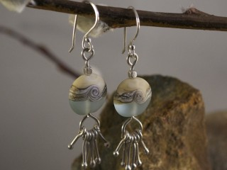 Ocean Droplet Earrings