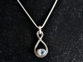 Aqua Infinity Pendant