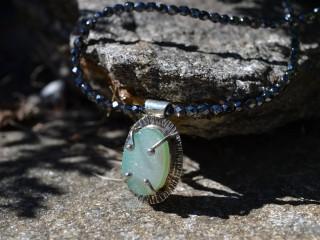 Druzy Quartz Necklace